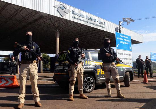 الأمن البرازيلى يتولى حماية بعض المنشأت تحسبا لتفاقم الأمور
