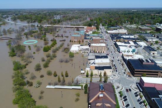 فيضانات-ميشيجان