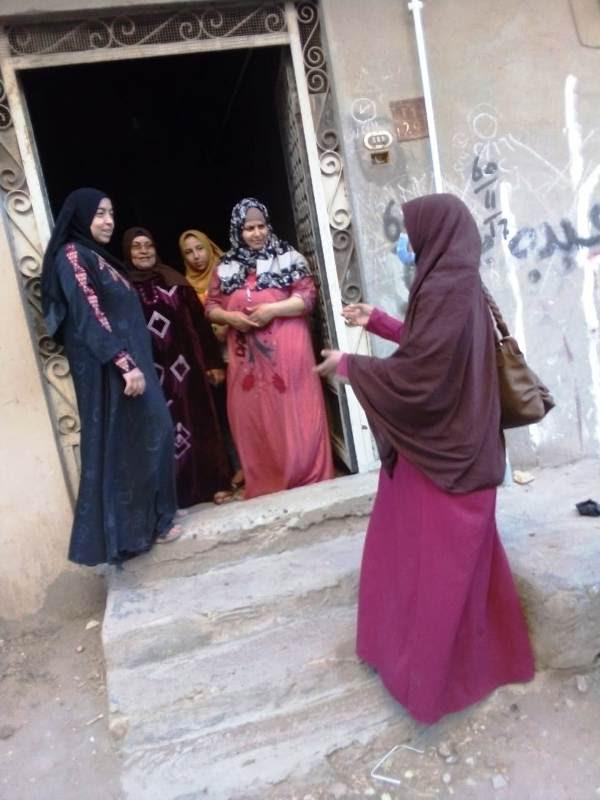 حملات توعوية للقومى للمرأة تجوب المراكز والقري (2)