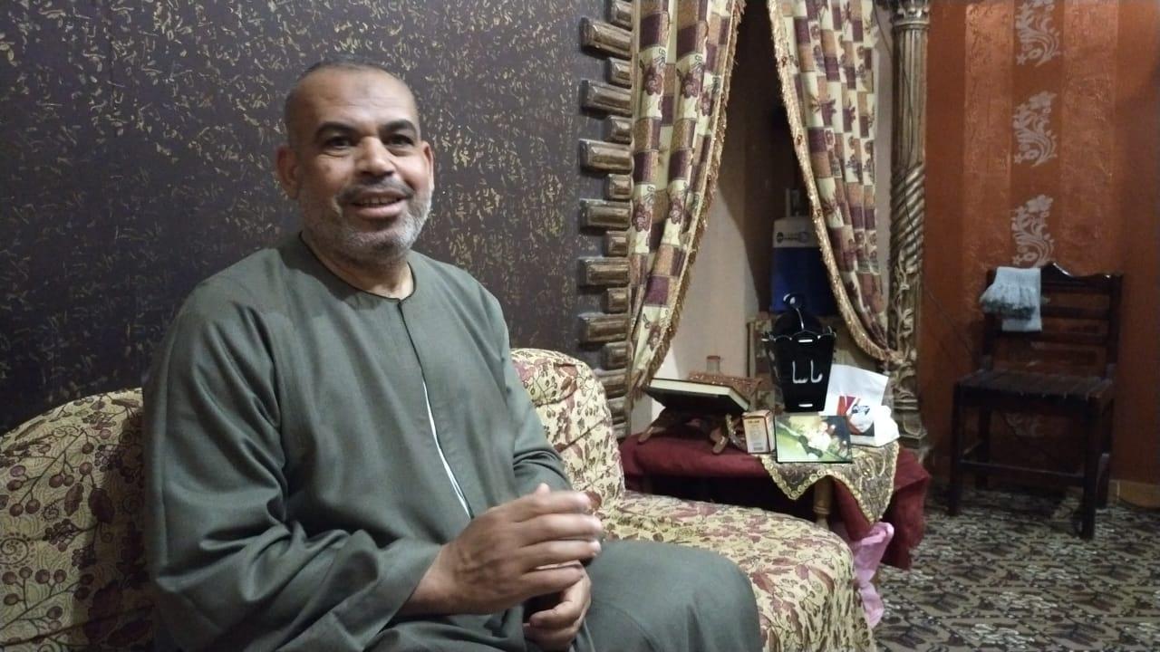 والد الشهيد عريف مقاتل محمد السيد رمضان والشهير بماسا