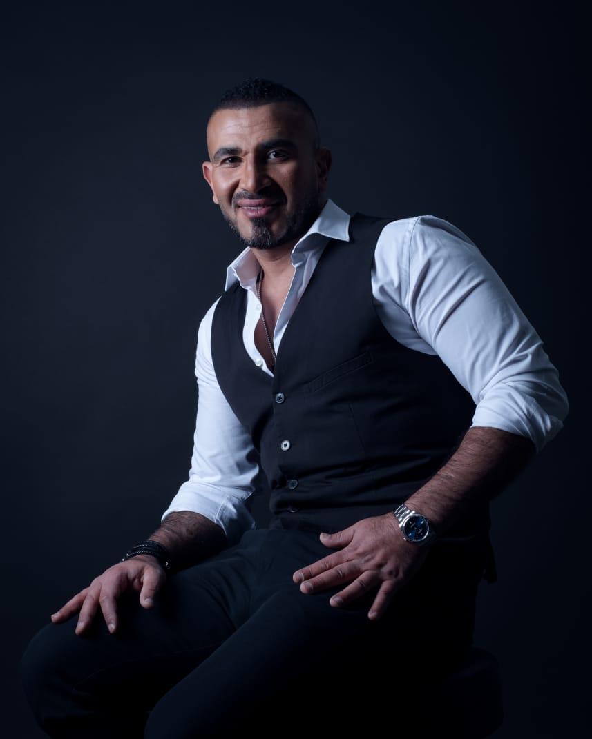 الفنان احمد سعد
