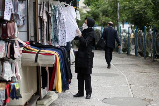 المحال التجارية تعود لممارسة أنشطتها فى طهران