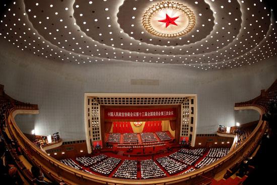 الجلسة الافتتاحية للمؤتمر الاستشارى السياسى للشعب الصينى فى بكين