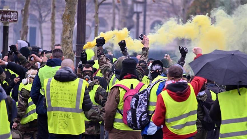 المظاهرات سيطرت على العواصم الأوروبية قبل كورونا