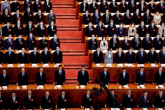 الرئيس الصينى يحضر الجلسة الافتتاحية للمؤتمر فى بكين