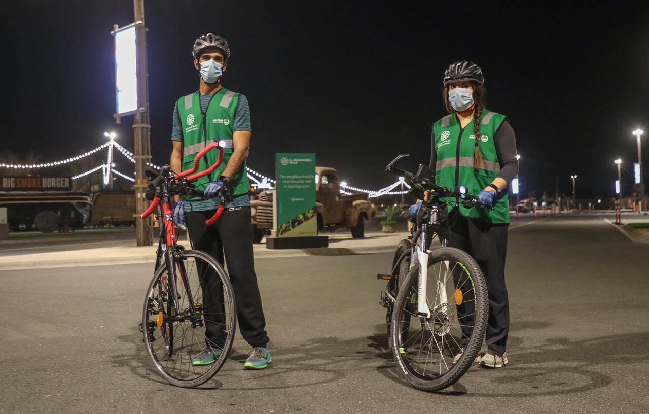 مبادرة شارك مع فرق الدراجات الهوائية (3)