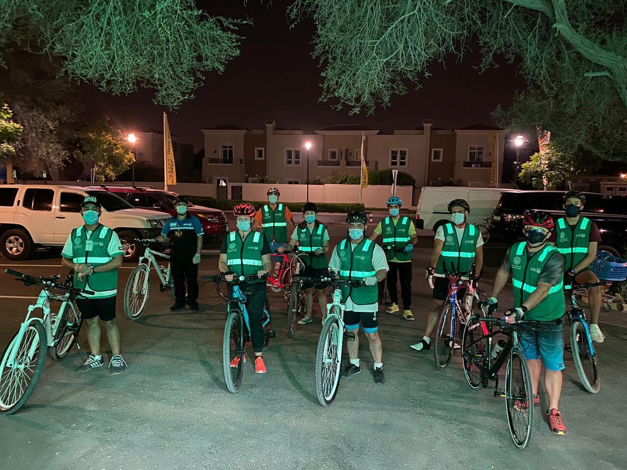 مبادرة شارك مع فرق الدراجات الهوائية (2)