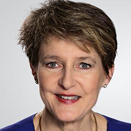 سيمونيتا رئيسة سويسرا