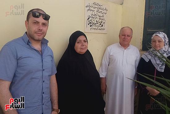 أسرة الشهيد البطل أحمد الشبراوى (2)