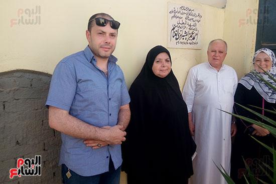 أسرة الشهيد البطل أحمد الشبراوى (1)