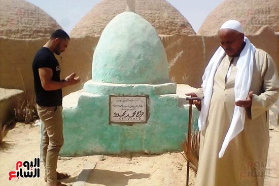 والد الشهيد المجند فراج محمد (2)