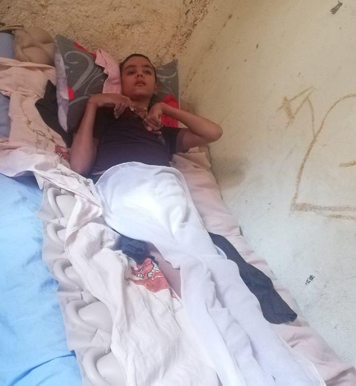 حالة الطفل أبو زيد طاهر مصاب بشلل دماغى بالوادى الجديد (18)