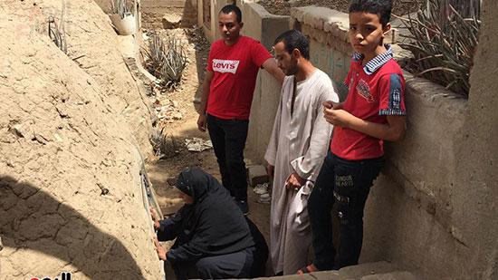 أسرة الشهيد مؤمن أبو اليزيد (1)