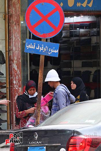 الاقبال على شراء ملابس العيد (4)