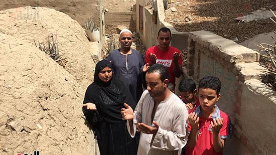 أسرة الشهيد مؤمن أبو اليزيد (8)