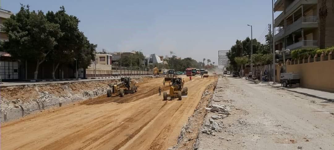 محافظة القاهرة تردم نفق العروبة لحل أزمة المرور والتكدسات بصلاح سالم (1)