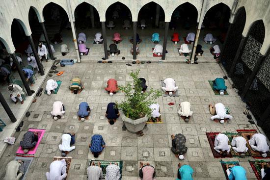 صلاة الجمعة فى بنجلاديش