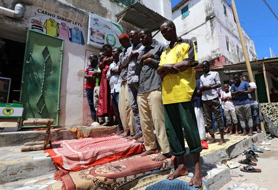 صلاة الجمعة فى الصومال