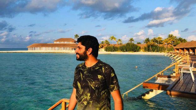 خالد فى المالديف