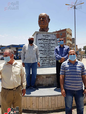 تمثال مجدى يعقوب (3)