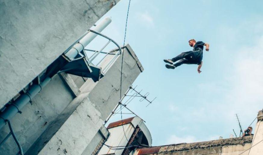 جانب من القفز