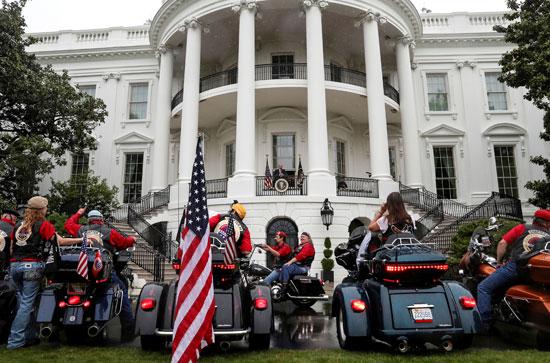 حفل تكريم الأسرى والمفقودين من قدامى المحاربين بالببيت الأبيض