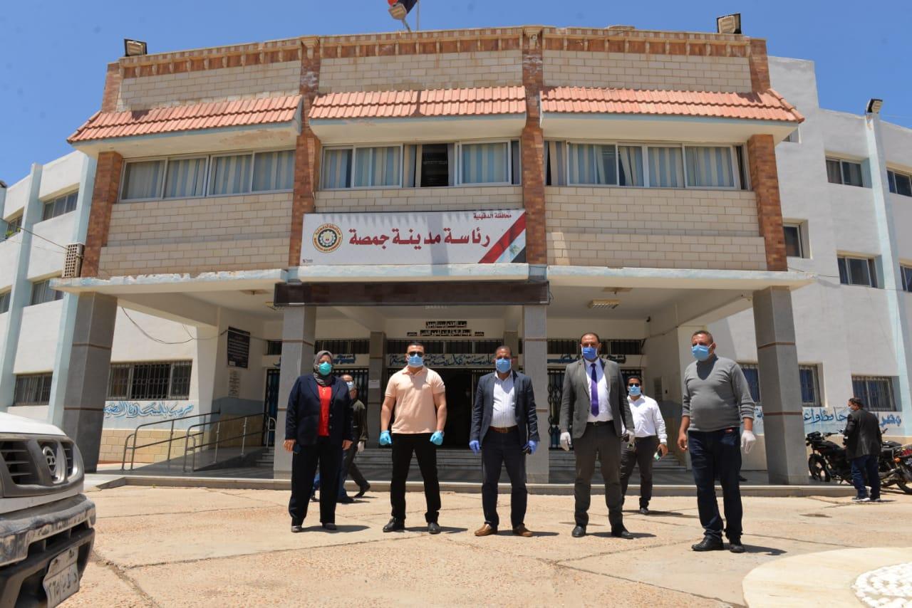 جولة نائب محافظ الدقهلية بمدينة المنصورة وجمصة (6)