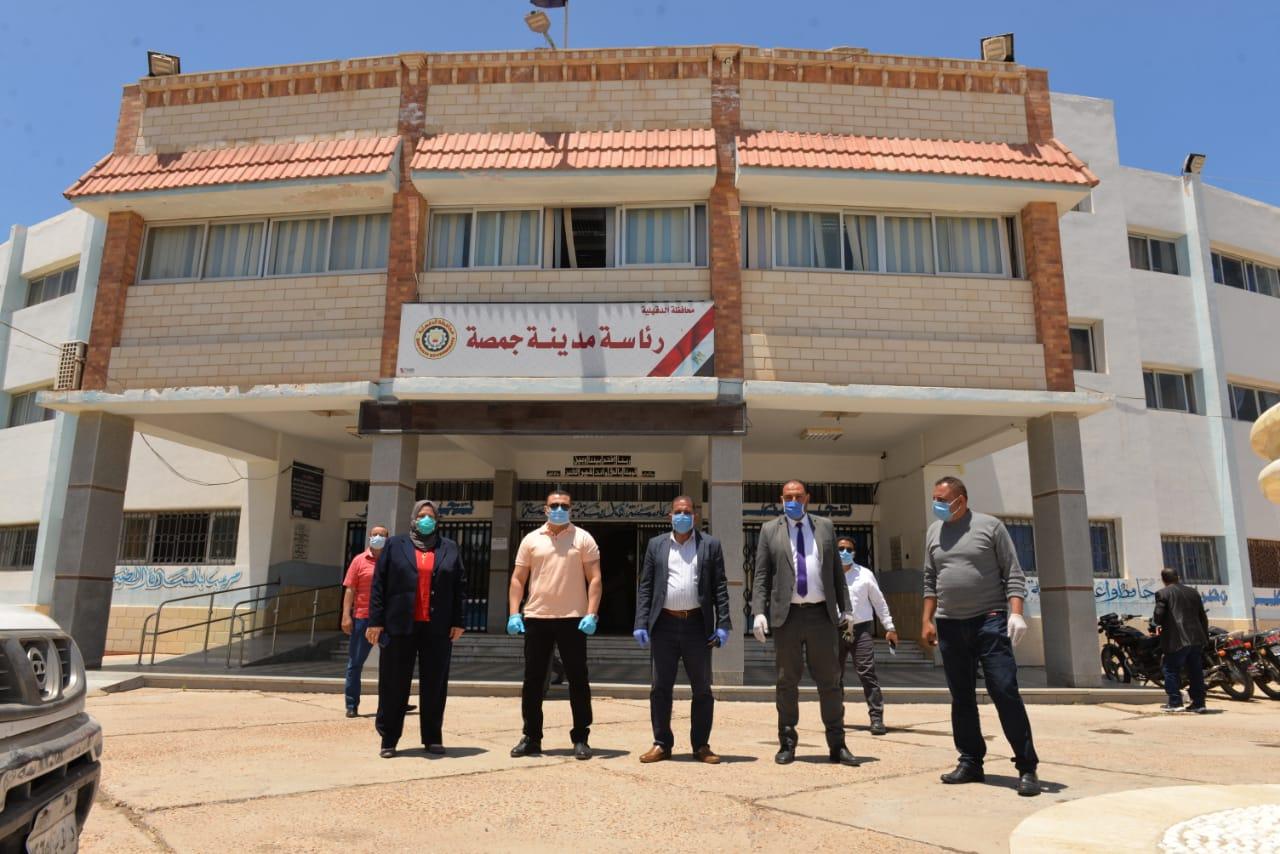 جولة نائب محافظ الدقهلية بمدينة المنصورة وجمصة (1)