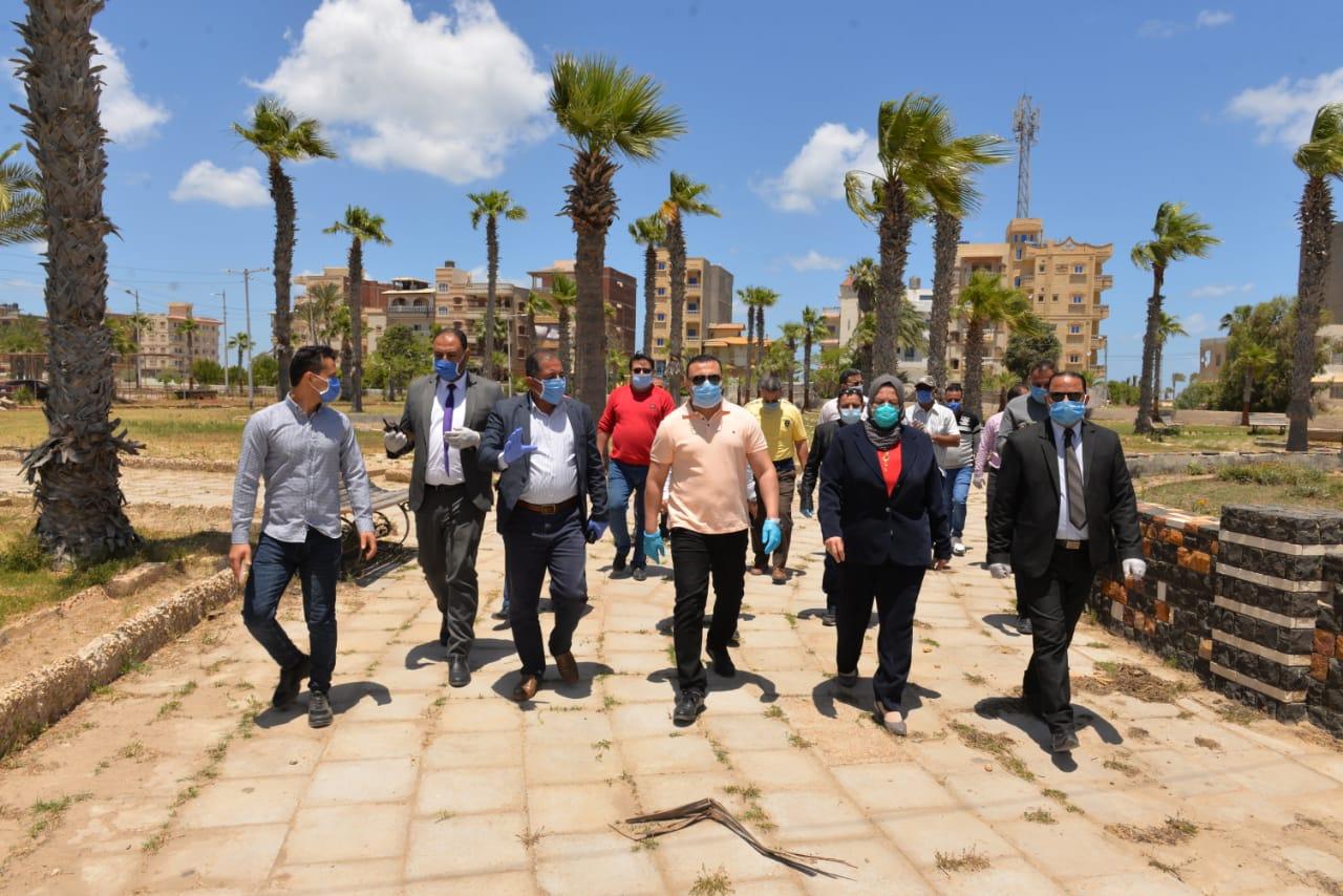 جولة نائب محافظ الدقهلية بمدينة المنصورة وجمصة (3)