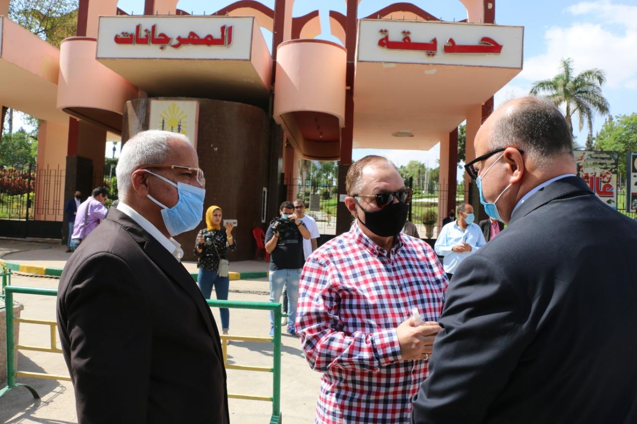 جولة محافظ القاهرة (2)