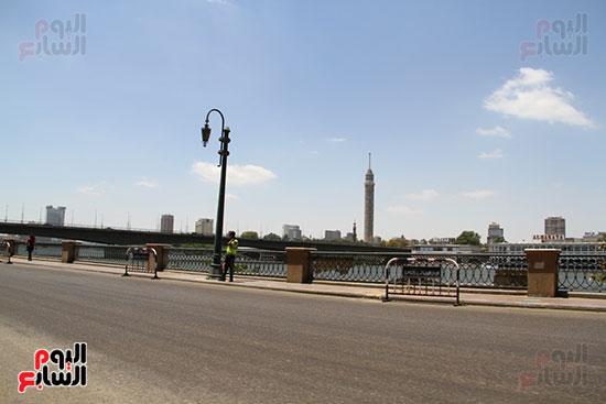 غلق كورنيش النيل بالقاهرة (6)