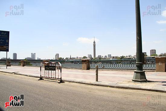 غلق كورنيش النيل بالقاهرة (2)