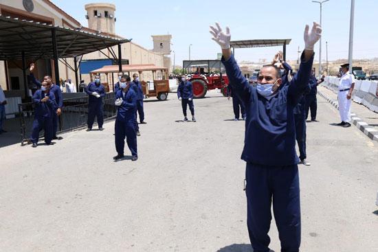 الداخلية تفرج عن 5532 سجينا استوفوا شروط العفو (7)