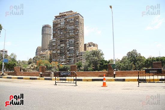 غلق كورنيش النيل بالقاهرة (3)