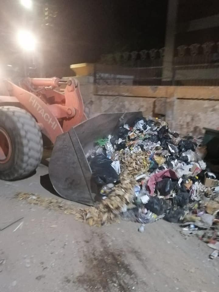 رفع 43 طن قمامة ومخلفات صلبة فى حملة نظافة بحي شمال مدينة الأقصر