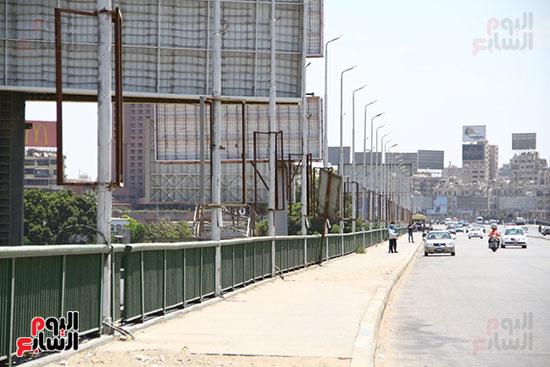 غلق كورنيش النيل بالقاهرة (1)