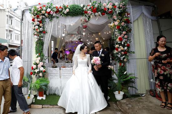العروسان قبل حفل الزفاف