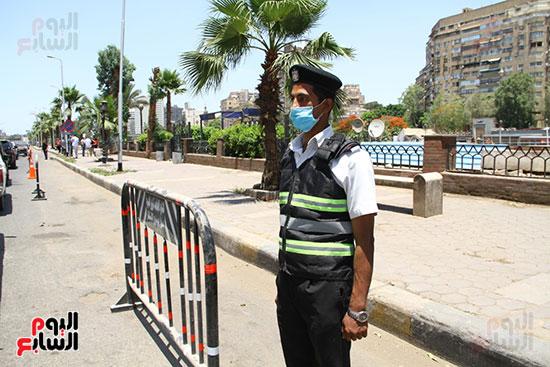 غلق كورنيش النيل بالقاهرة (4)