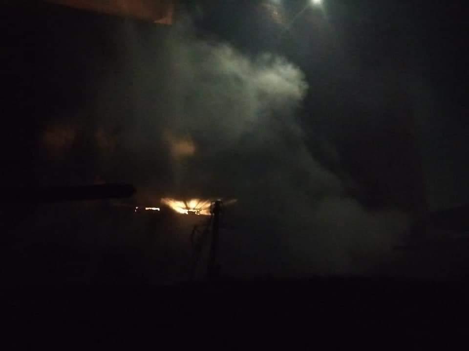 الحماية المدنية تسيطر على حريق منزل بقليوب (3)