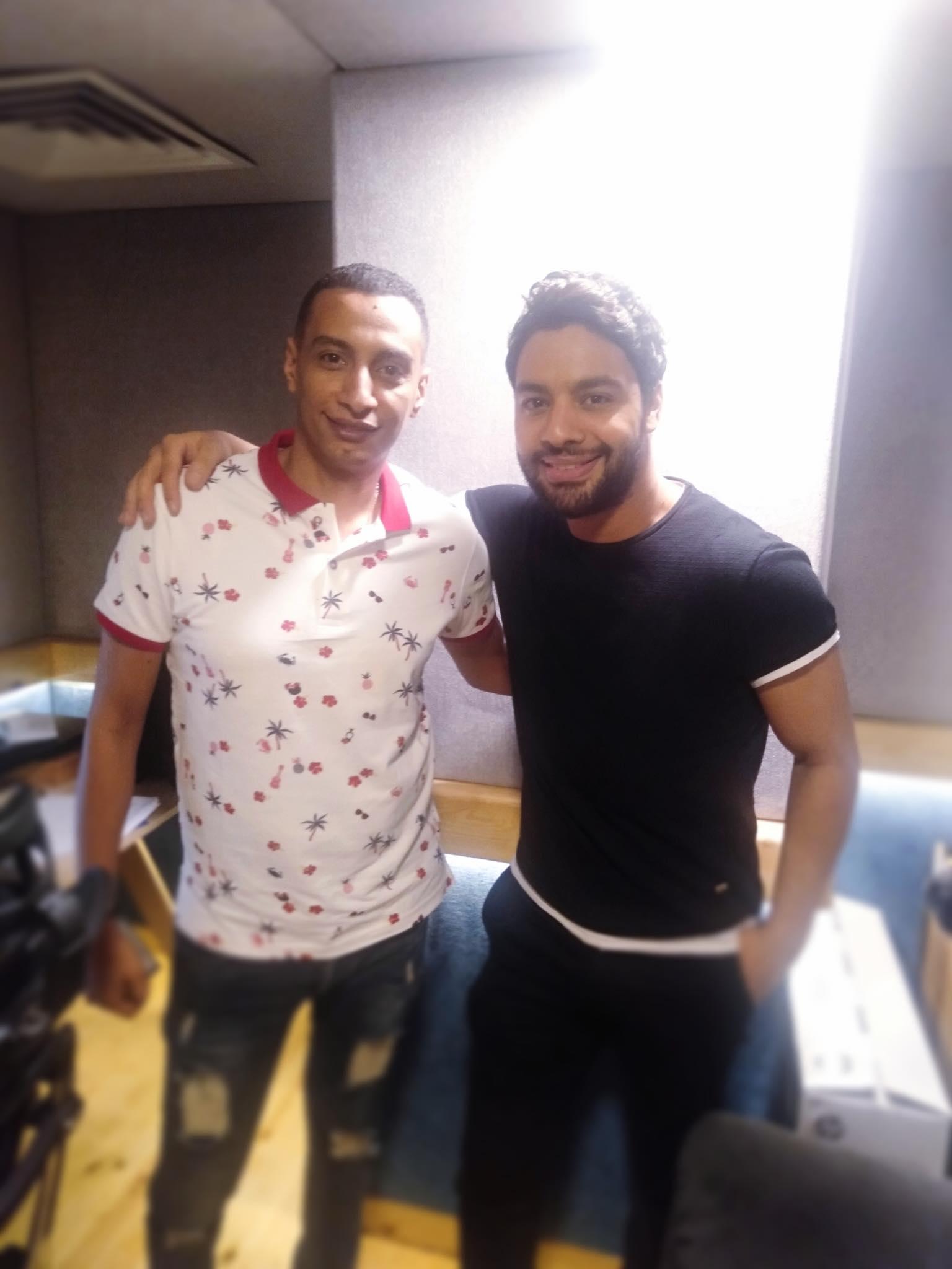 الموزع الموسيقى أحمد عاطف وأحمد جمال