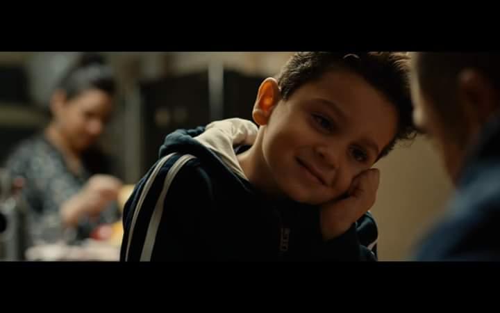 الطفل إياد مع النجم أمير كراره (8)