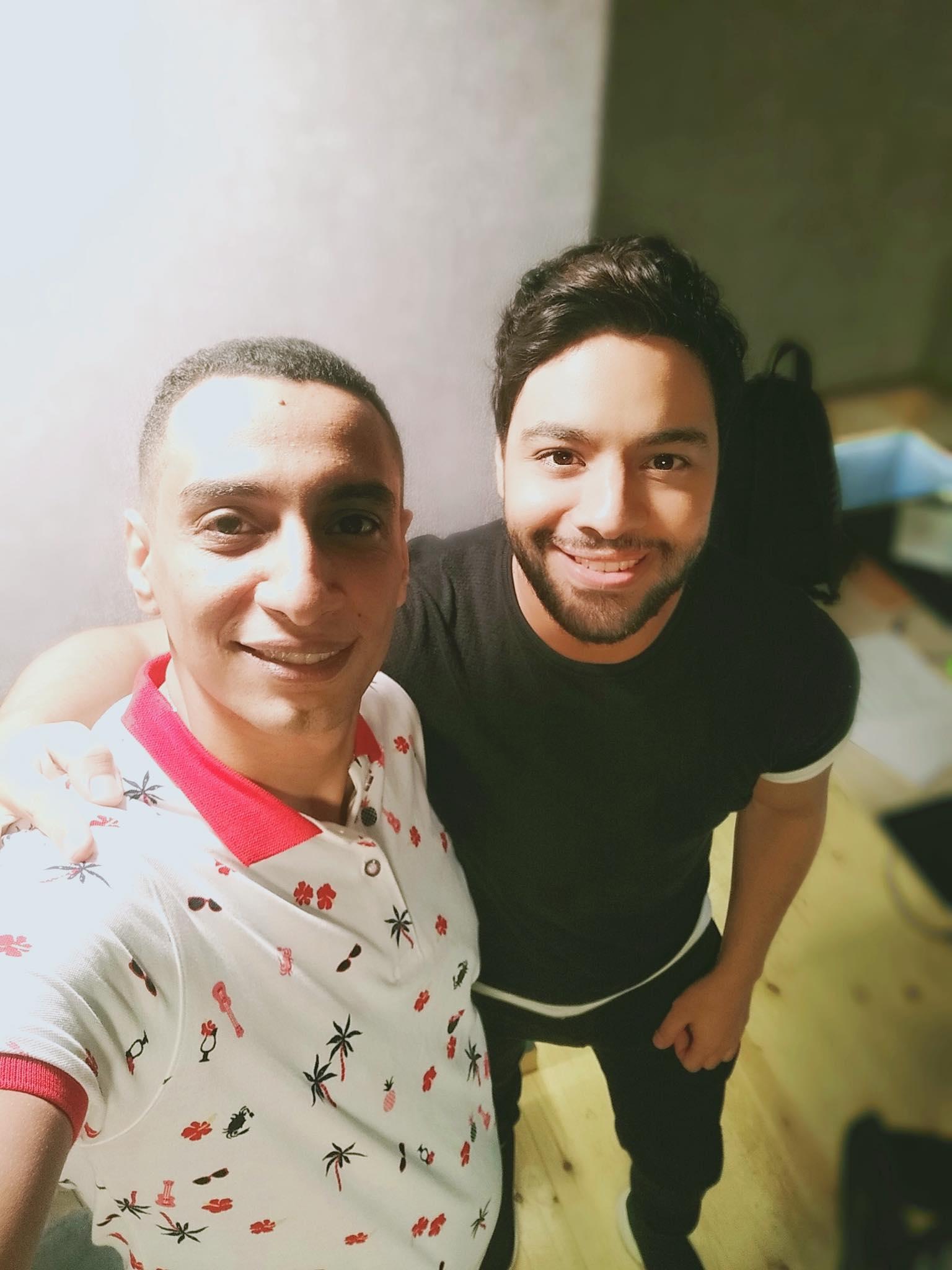 أحمد جمال والموزع أحمد عاطف