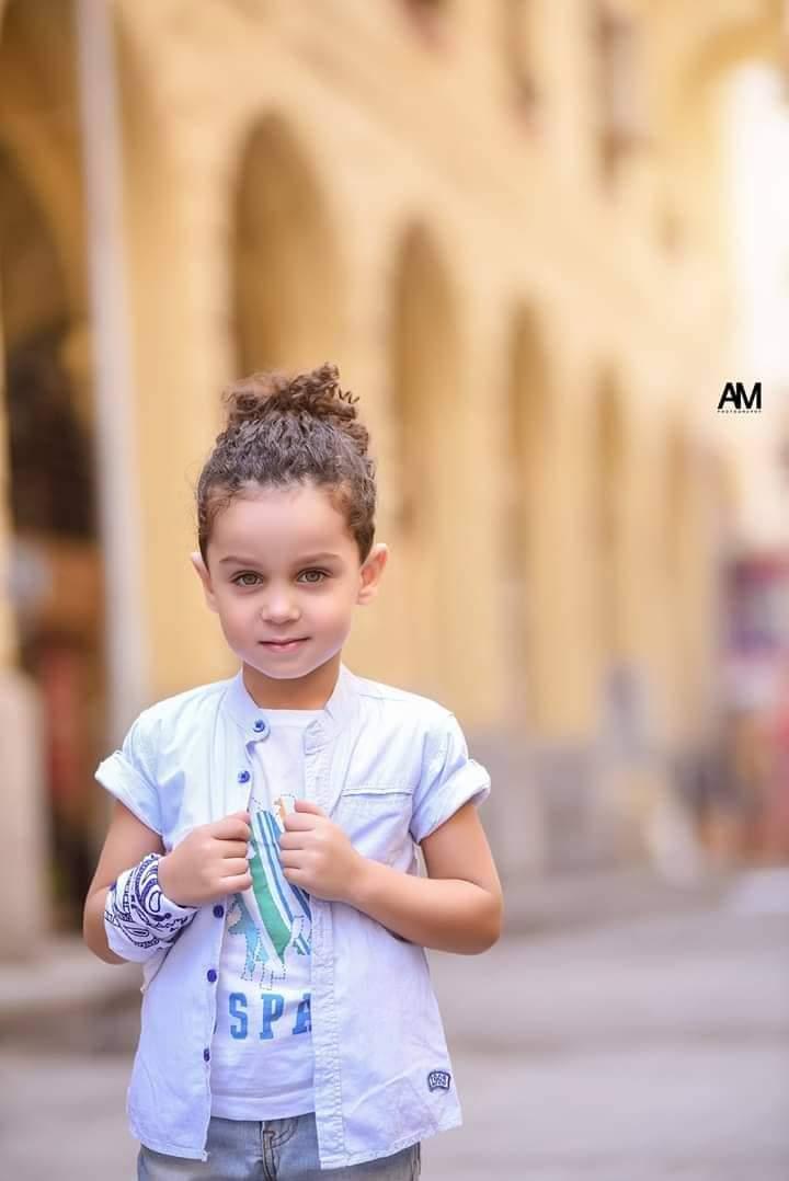 الطفل إياد مع النجم أمير كراره (4)