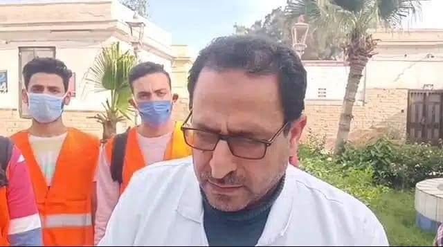 مدير مستشفى حميات الزقازيق يكشف تفاصيل خروج جثة بدون ضوابط احترازية (2)