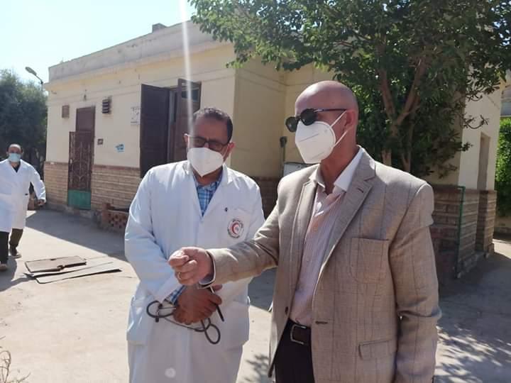 مدير مستشفى حميات الزقازيق يكشف تفاصيل خروج جثة بدون ضوابط احترازية (1)