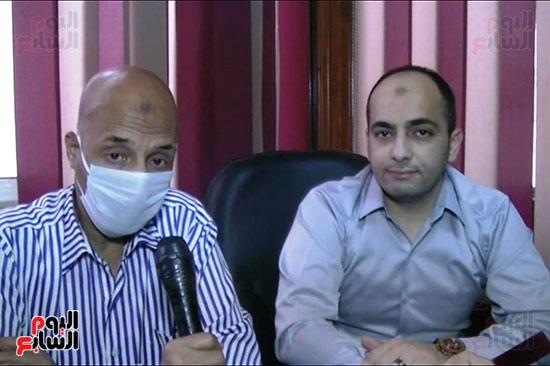 أطباء مستشفيات العزل بمحافظة كفر الشيخ (4)