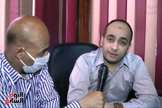 أطباء مستشفيات العزل بمحافظة كفر الشيخ (1)