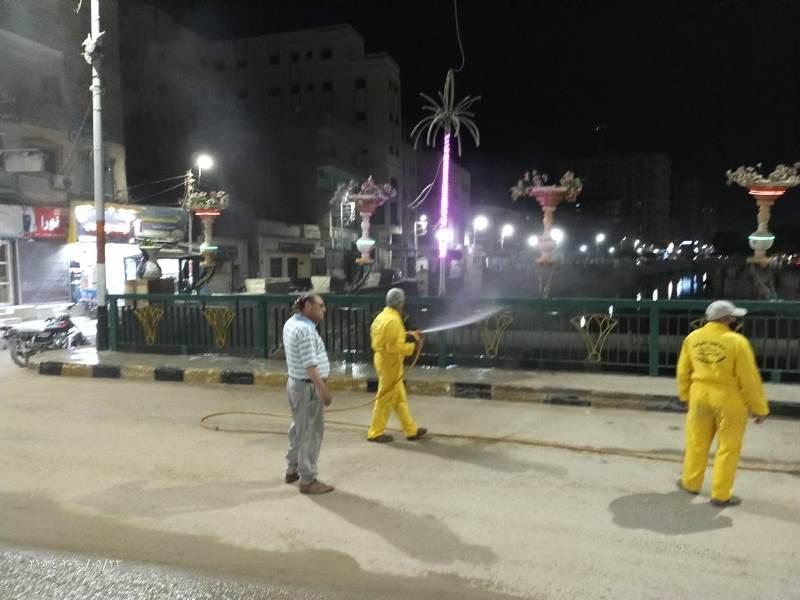 والتطهير للشوارع والمبانى الحكومية  7