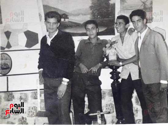 شباب-عائلة-سالم-في-الستينات