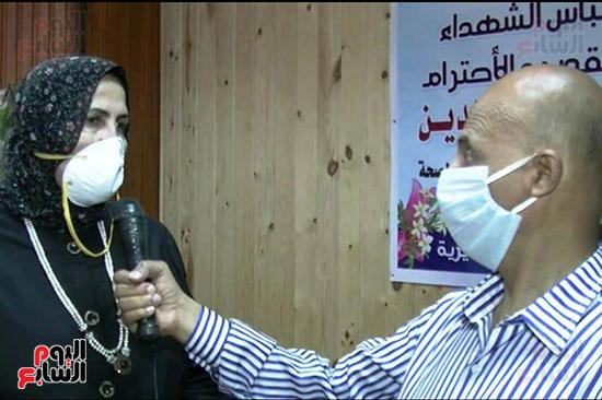 أطباء مستشفيات العزل بمحافظة كفر الشيخ (2)
